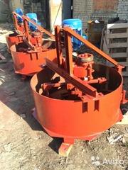 Принудительные бетоносмесители от 200 литров с завода